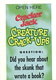 Cracker Jack Toy Prize: Creature Crack-Ups (Image1)