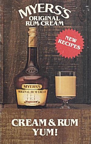 Myers Cream & Rum Yum New Recipes  (Image1)