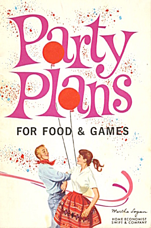 Party Plans For Food & Games