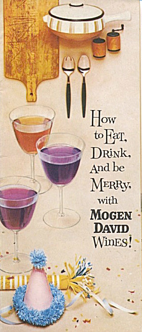 How To Eat Drink And Be Merry With Mogen David Wine