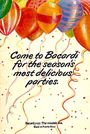Come to Bacardi for the Season's Most Delicious Parties (Image1)