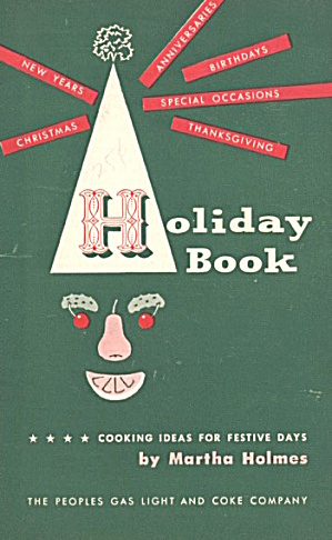 Martha Holmes Holiday Recipes Set Of 6