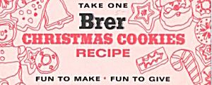 Brer Christmas Cookies Recipe  (Image1)