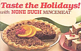 Taste The Holidays With None Such Mincemeat