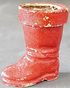 Vintage Egg Carton Santa Boot (Image1)
