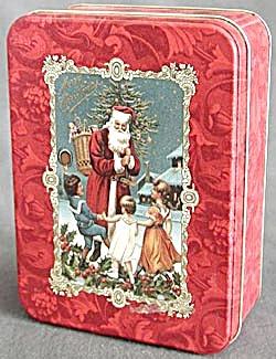 Hallmark Santa Tin (Image1)
