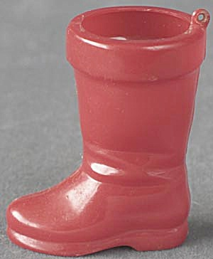 Vintage Santa Boot Candy Container/Ornament (Image1)