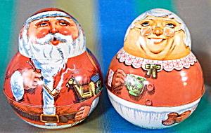 Bristol Ware Mr. and Mrs. Santa Clause Tins (Image1)