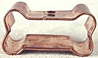 Copper Mini Dog Bone Cookie Cutter (Image1)
