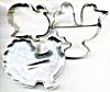 Vintage Metal Turkey Cookie Cutters Set of 3 (Image1)
