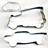 Vintage Metal Cars Cookie Cutters Set of 3 (Image1)
