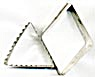 Vintage Metal Diamonds & Triangle Cookie Cutters Set 2