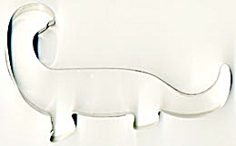 Large Metal Dinosaur Cookie Cutter (Image1)