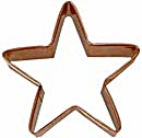 Vintage Large Copper Star Cookie Cutter (Image1)