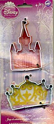 Disney Princess Metal Cookie Cutters