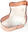 Stocking Large Copper Cookie Cutter (Image1)