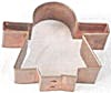 Gingerbread Girl Copper Cookie Cutter  (Image1)