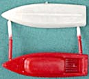 Cracker Jack Toy Prize: Put Together Boat (Image1)