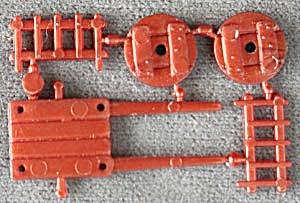 Cracker Jack Toy Prize: Put TogetherOx Cart (Image1)