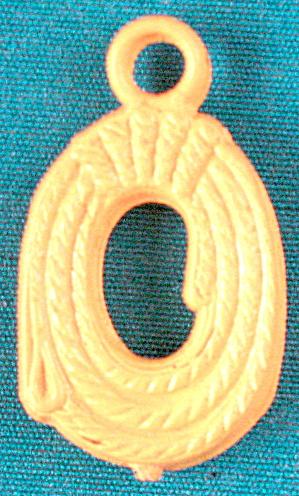 Cracker Jack Toy Prize: Lasso Charm (Image1)