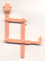 Cracker Jack Toy Prize: Put Together Ape (Image1)