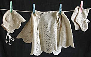 Vintage Knit Set for Baby (Image1)