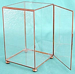 Brass & Glass Display Case for Smalls (Image1)