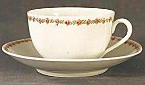 Vintage Austria Rose Cup and Saucer (Image1)