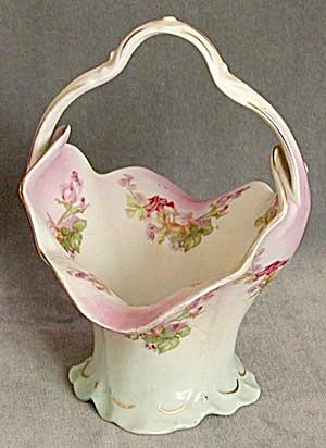 Vintage Habsburg China Austrian Basket (Image1)