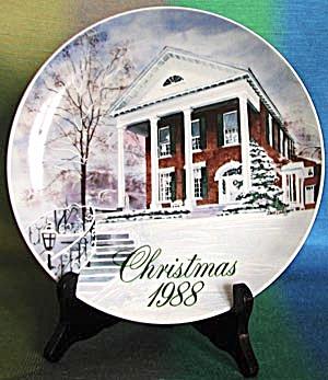Marietta College President Home in Marietta Ohio Plate (Image1)