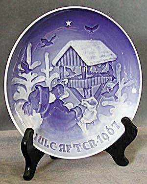Bing & Grondahl 1967 Christmas Plate (Image1)