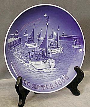 Bing & Grondahl 1966 Christmas Plate (Image1)