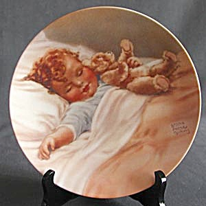 Collector Plate: Happy Dreams by Bessie Pease Gutmann (Image1)
