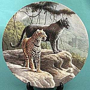 The Jaguar Collector Plate (Image1)