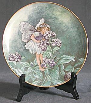 Flower Fairy Heliotrope Plate (Image1)