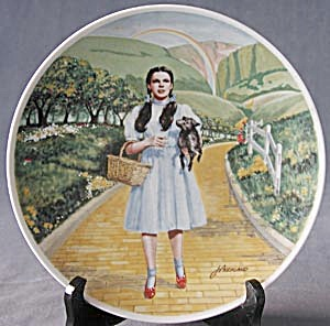 "Knowles ""Over The Rainbow"" Plate (Image1)"