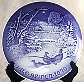 Bing and Grondahl Pheasants in the Snow Plate (Image1)