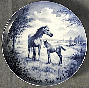 Kaiser Mother's Day Plate 1971 (Image1)