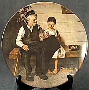 Collector Plate The Ligthouse Keeper's Daughter (Image1)