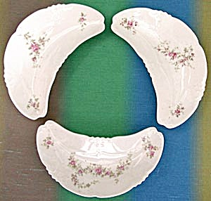 Vintage China Bone Dishes Set Of 3
