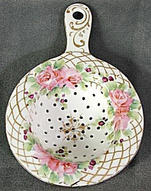 Tea Strainer Porcelain Hand Painted (Image1)
