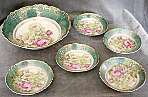 Antique German Berry Bowl Set (Image1)