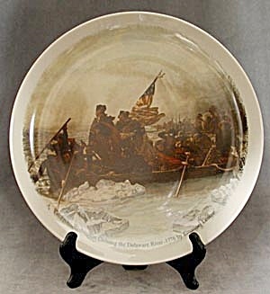 Limited Edition Plate Washington Crossing The Delaware