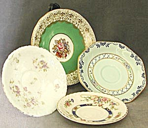 Vintage 4 Misc. Group of Saucers (Image1)