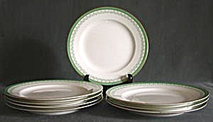 Vintage Stoke & Sons Plates Set of 8 (Image1)