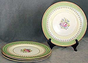 Vintage Cauldon Plates Set of 4 (Image1)