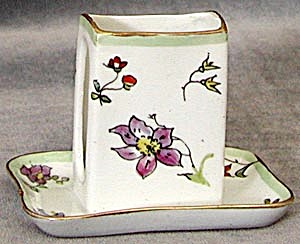 Antique Limoges Match Box Holder (Image1)
