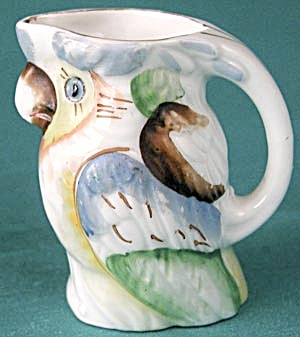 Vintage Small Parrot Pitcher (Image1)