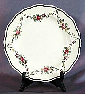 Vintage Royal Doulton Flower Swag Plate (Image1)