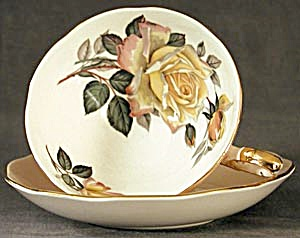Vintage: Royal Standard Yellow Rose Cup & Saucer